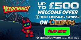 Kerching Casino Sign Up Bonus