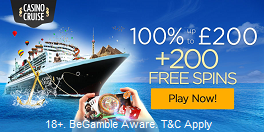 Casino Cruise UK Bonus Offer